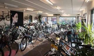 Billede af cykler